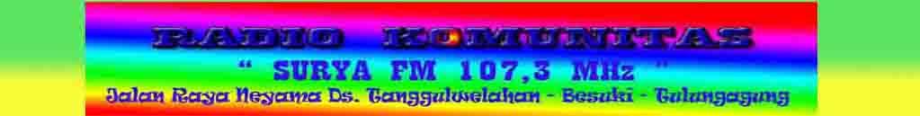 RADIO SURYA FM 107,3 MHz