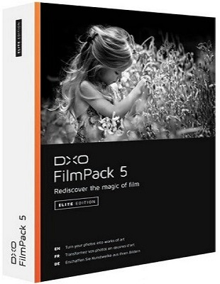DxO FilmPack Elite 5.5.13 Build 559 poster box cover