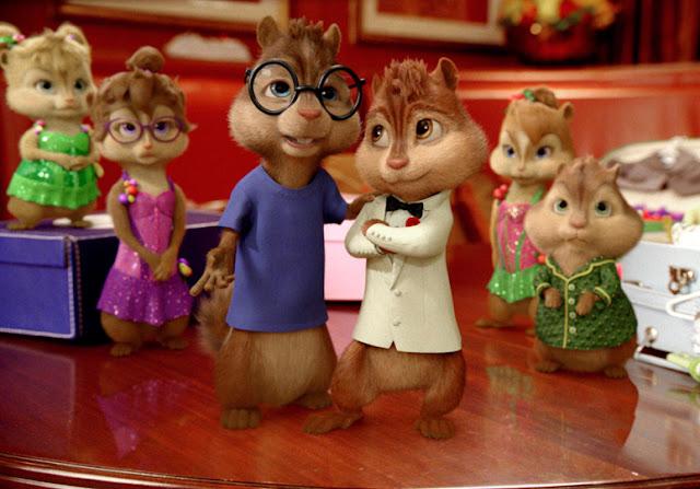 Alvin ardillas película animación