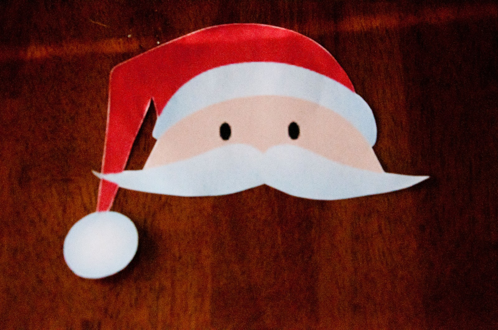 Printable santa template printable santa beard cut out santa face