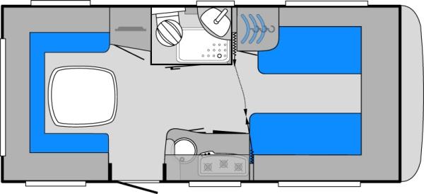 camper stuebchen eurostar der neue super caravan von knaus. Black Bedroom Furniture Sets. Home Design Ideas