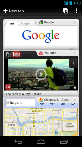 تحميل برنامج جوجل كروم للاندرويد 2013