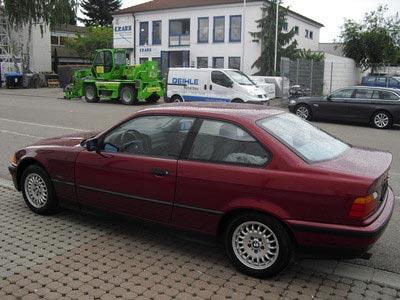 купе БМВ е36