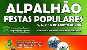 ALPALHÃO: FESTAS POPULARES COM 4 DIAS DE ANIMAÇÃO