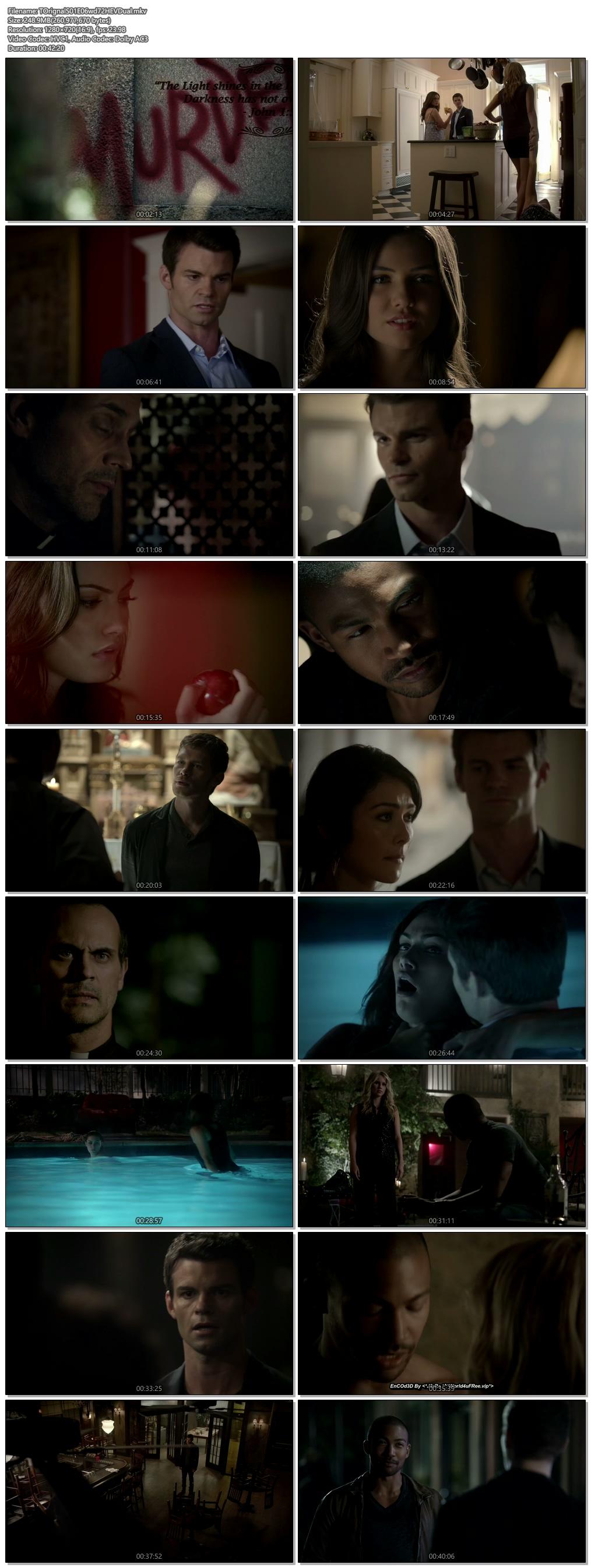 Screenshots Of Hindi Dubbed Show The Originals 2013 Season 01 Episode 06 300MB 720P HD
