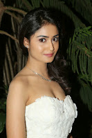 Tridha Chowdhury Hot Photo in White Dress