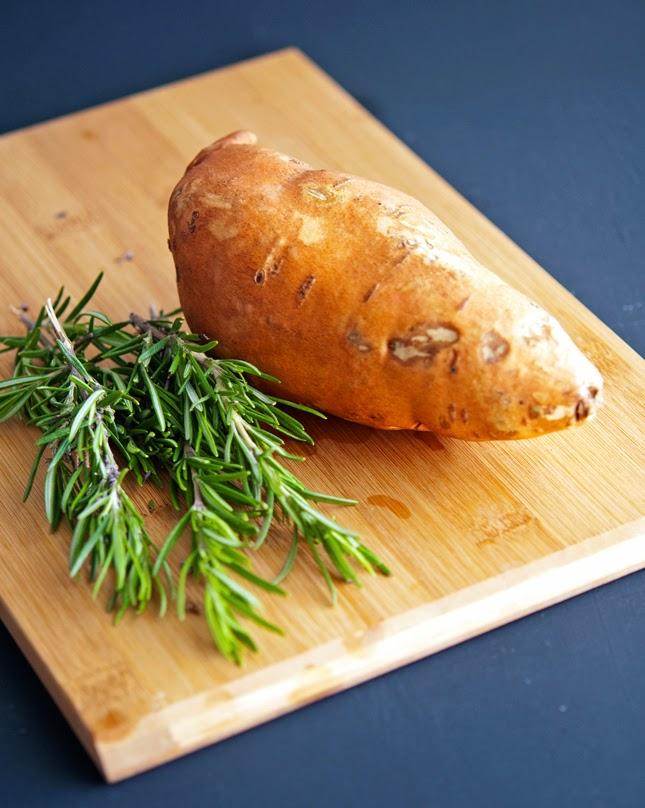 Sweet Potato and Rosemay