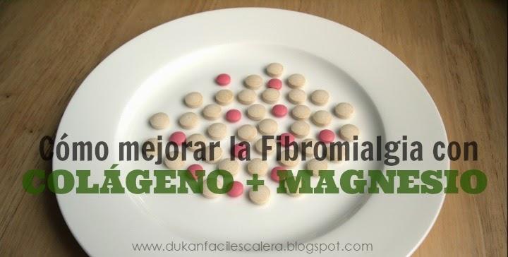 Articulo sobre como podemos mejorar los que padecemos fibromialgia con el colágeno y el magnesio.