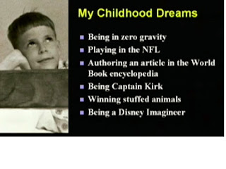 Randy Pausch's childhood dreams