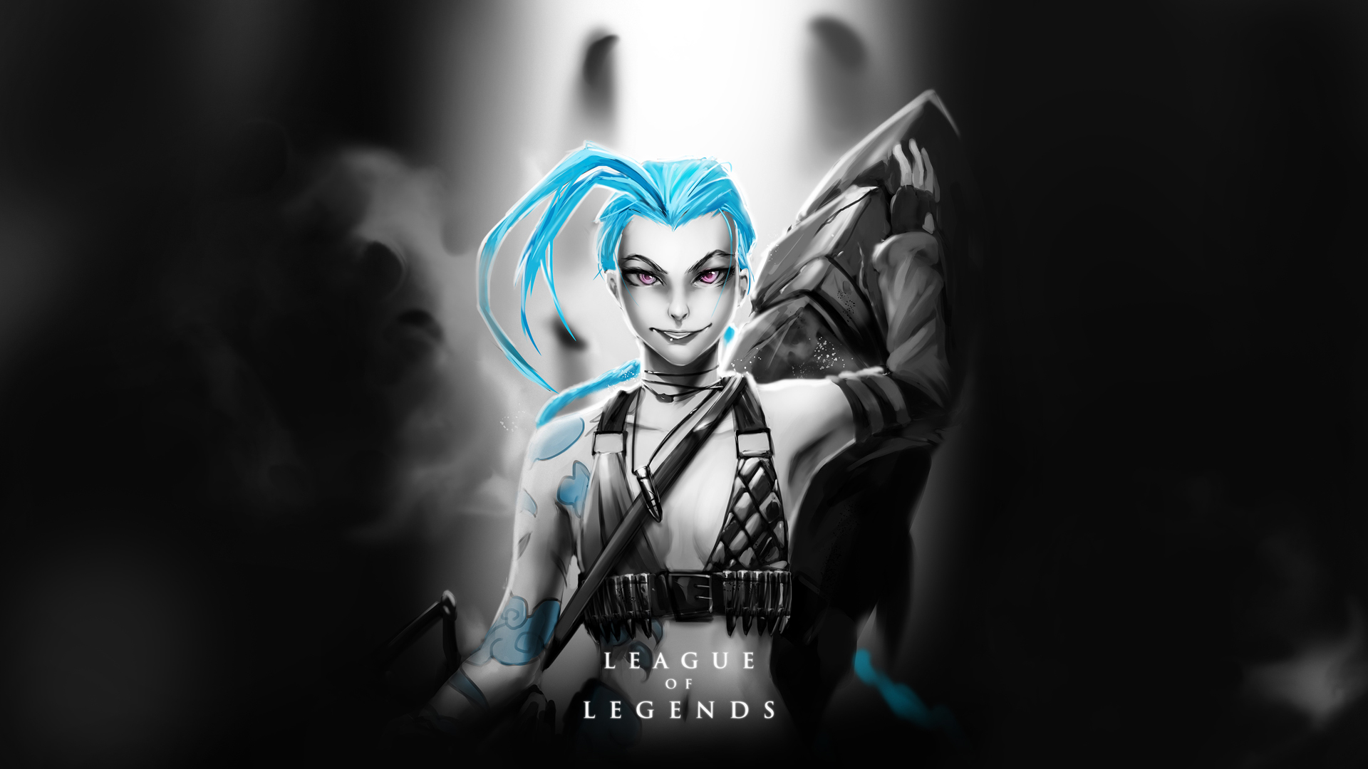 Jinx Wallpaper Jinx Champion Art n HD Wallpaper