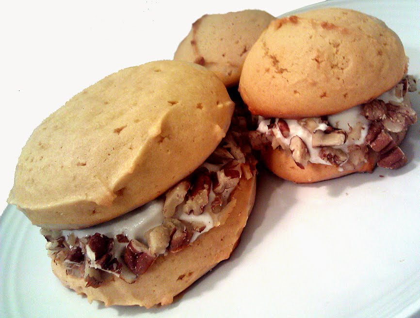 A Profound Hatred of Meat: Maple Whoopie Pies with Coconut ...