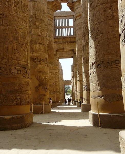 Templo de Amón Karnak, Egipto
