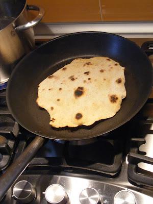 pane indiano di ceci cucina naturale