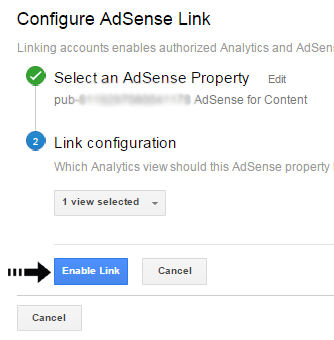 AdSense property