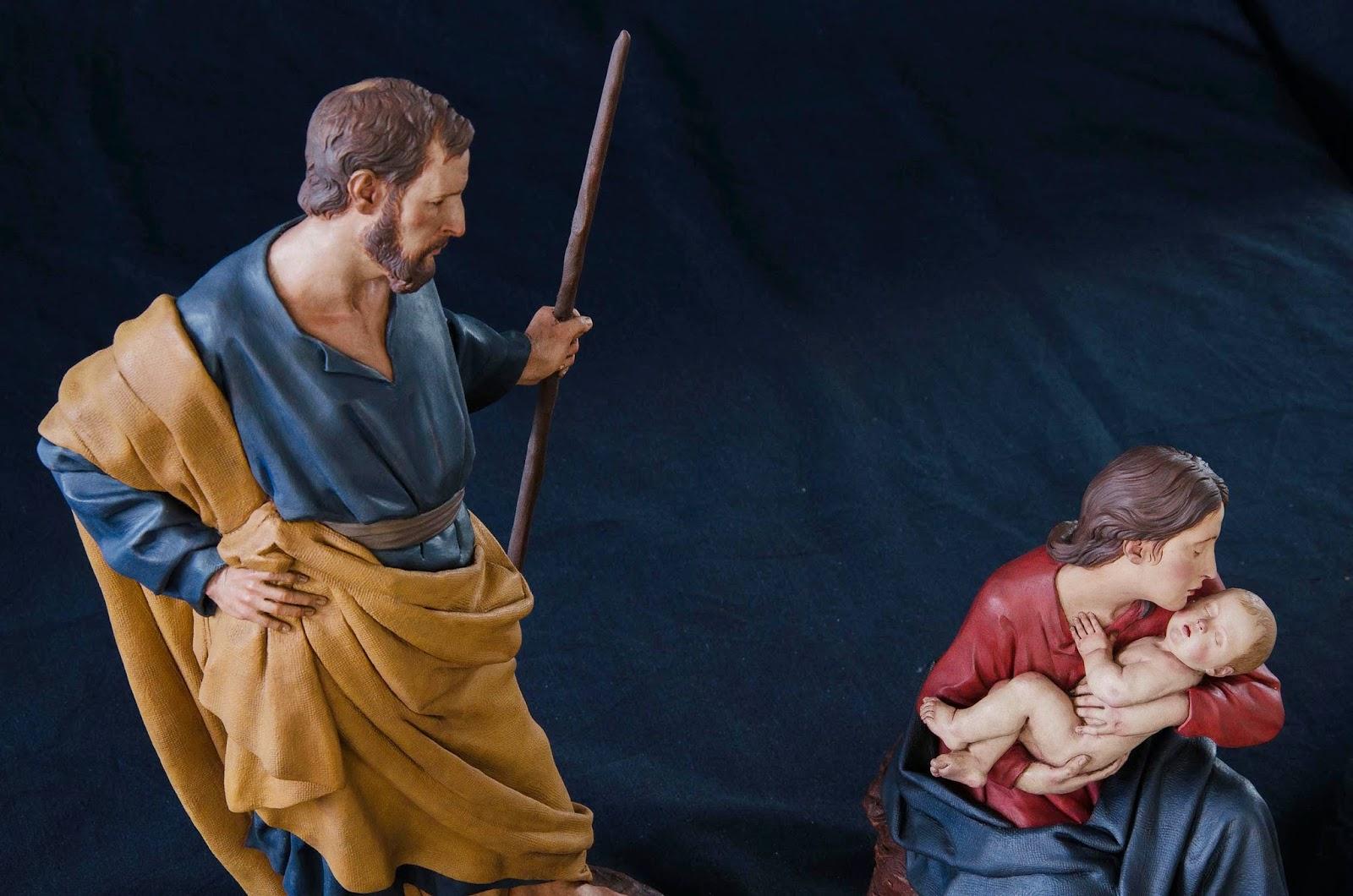 Nacimiento Belén Nativity presepe krippe Arturo Serra Barro cocido 39