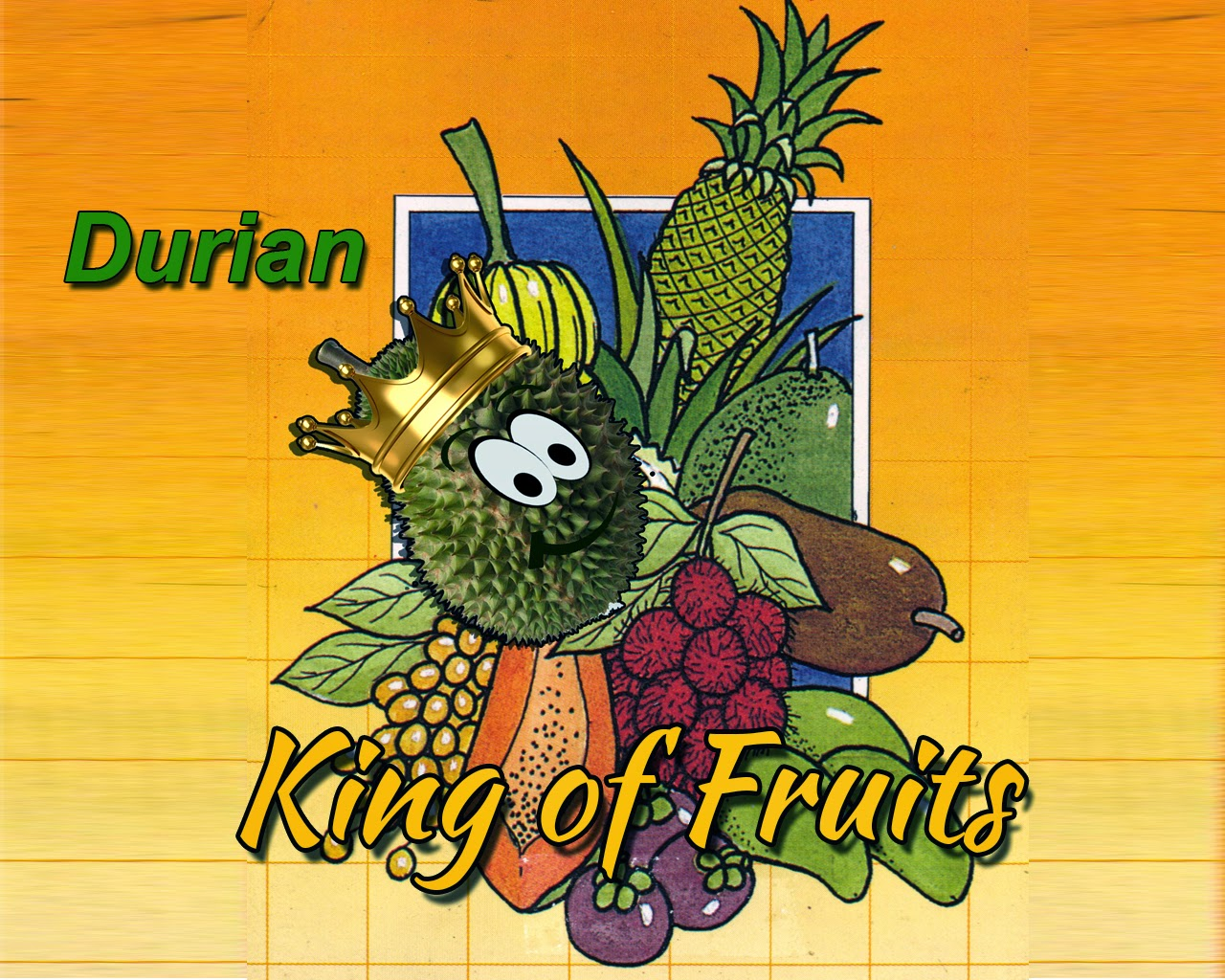 durian king of fruits In singapore, discovering the durian, south-east asia's king of fruits, is a sensory and cultural experience.