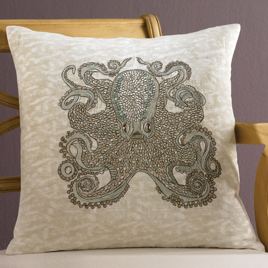 Tuesday Morning Octopus Pillow