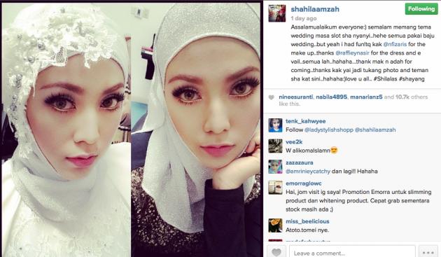 8 Foto pernikahan Shila Amzah secara senyap senyap