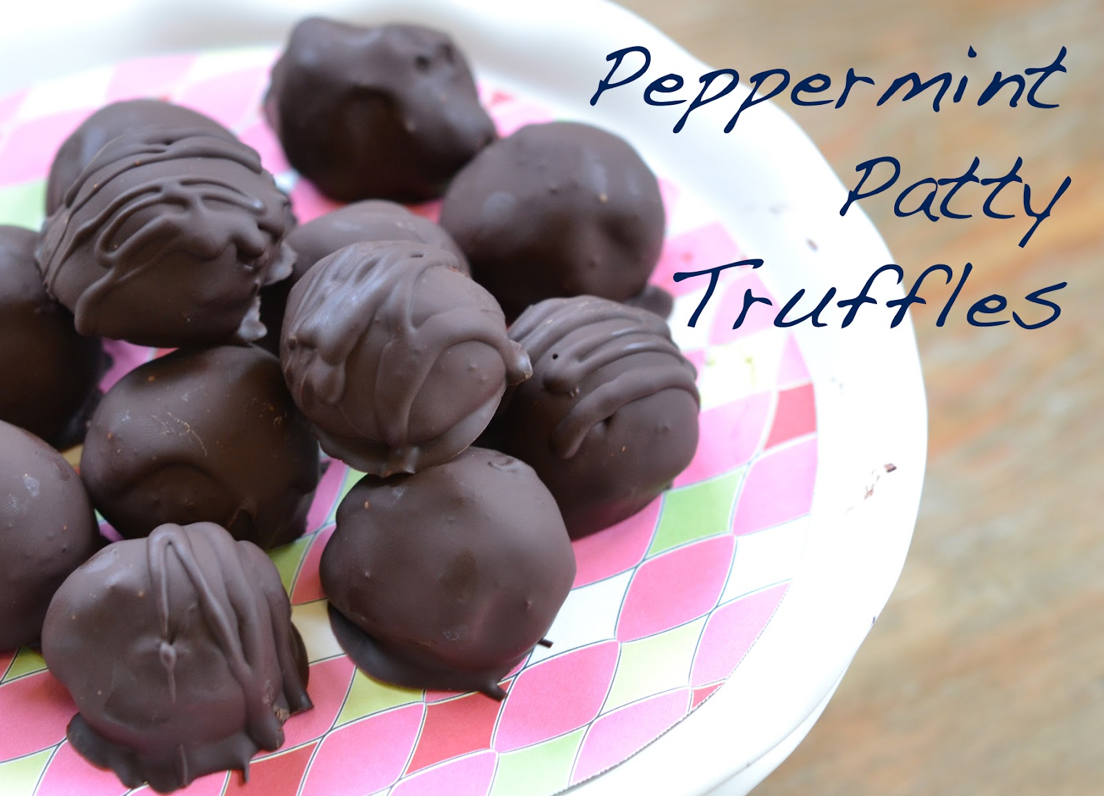 home in the making: {create} peppermint truffles