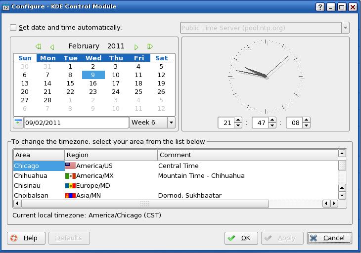 Set date linux in Brisbane
