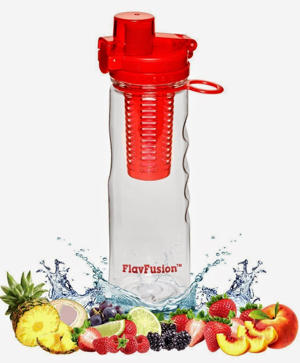 FlavFusion (TM) 25 oz Infuser Water Bottle