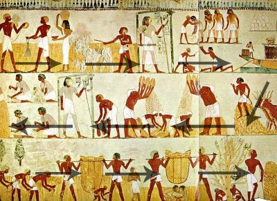 The tomb of menna ancient egypt facts for Dynasty mural works