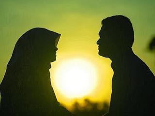 Suami istri - siluet ilustrasi (flicker)