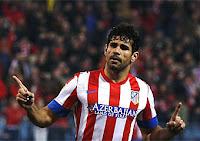 Diego Costa celebra uno de los goles