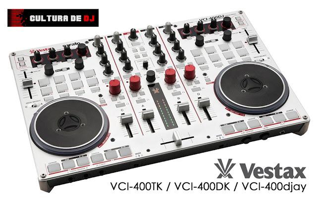 Controlador Vestax VCI-400DJ