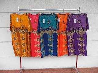 Daster Murah Tangan 3 per 4 Klasik ungu
