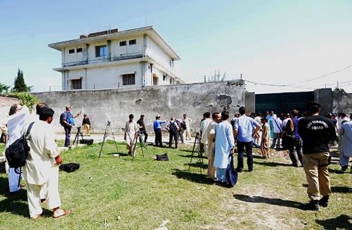 Potret Suasana Rumah Persembunyian Osama Bin Laden Setelah Tewas