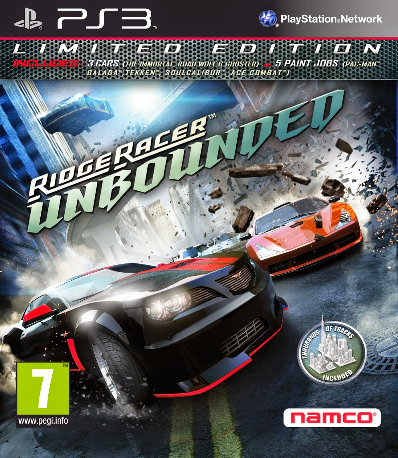 Ridge Racer Unbounded Working