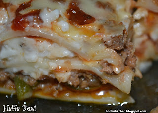 Classic Lasagna From Haffas kitchen adventures guest posts  My name is Roz but lots call me Rosie.  Welcome to Rosies Home Kitchen.  I moved from the UK to France in 2005, gave up my business and with my husband, Paul, and two sons converted a small cottage in rural Brittany to our home   Half Acre Farm.  It was here after years of ready meals and take aways in the UK I realised that I could cook. Paul also learned he could grow vegetables and plant fruit trees; we also keep our own poultry for meat and eggs. Shortly after finishing the work on our house we was featured in a magazine called Breton and since then Ive been featured in a few magazines for my food.  My two sons now have their own families but live near by and Im now the proud grandmother of two little boys. Both of my daughter in laws are both great cooks.  My cooking is home cooking, but often with a French twist, my videos are not there to impress but inspire, So many people say that they cant cook, but we all can, you just got to give it a go.