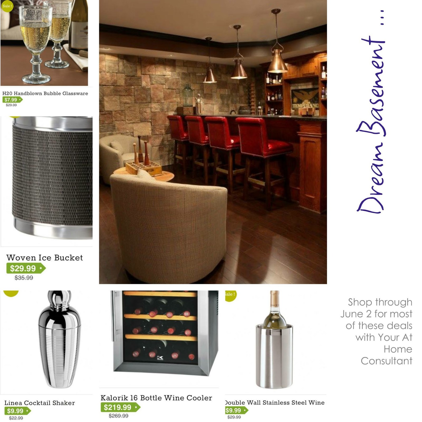 Love the decor kalorik wine cooler event and more for Decor wine cooler