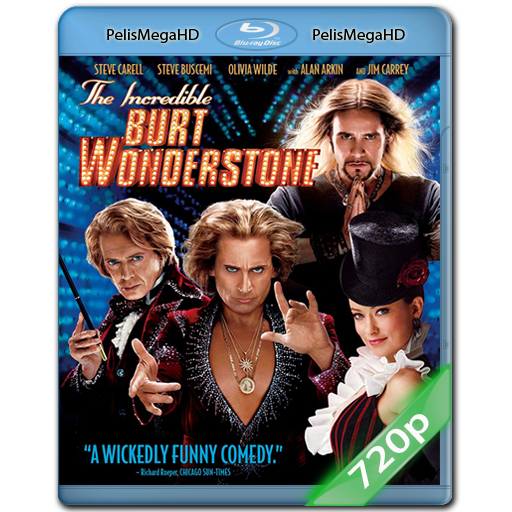 EL INCREÍBLE BURT WONDERSTONE (2013) 720P HD MKV ESPAÑOL LATINO
