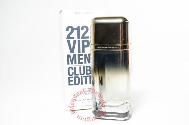 Carolina Herrera 212 VIP Men Club Edition Tester  Perfume
