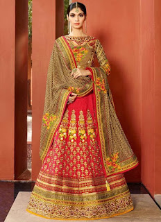 Heavy Embroidered 2016 Lehengas