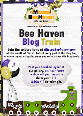 Freebie MBH Blog Train