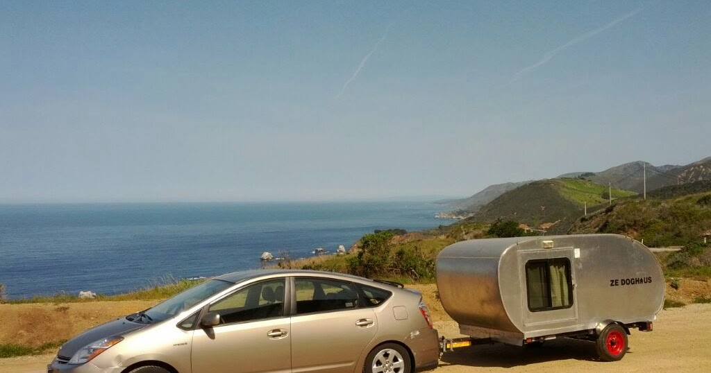 Tiny Yellow Teardrop: Towing a Teardrop Trailer with a Prius