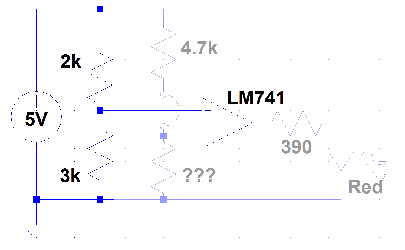To The Rails Voltage Divider Quiz Solution Lm741 Circuit Which Can Be Controlled Via Configuration Since This Opamp Has A Relatively High Input Impedance You Ignore Any Loading Effects And