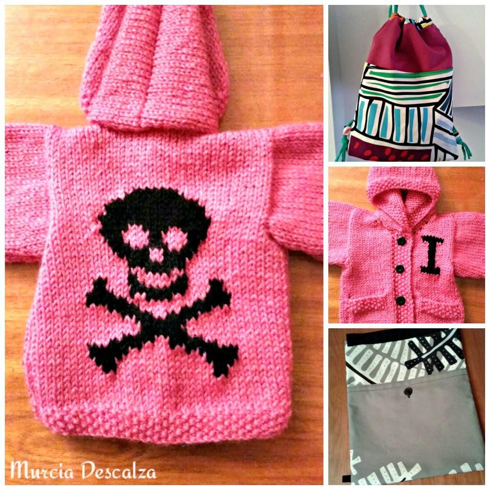 mochilas, jerseys de bebé, artesanía