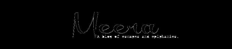 Meera's Blog