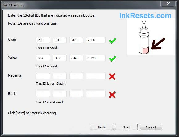 Cara Reset Ink Level Epson L100, L200, L800 tanpa SN ID