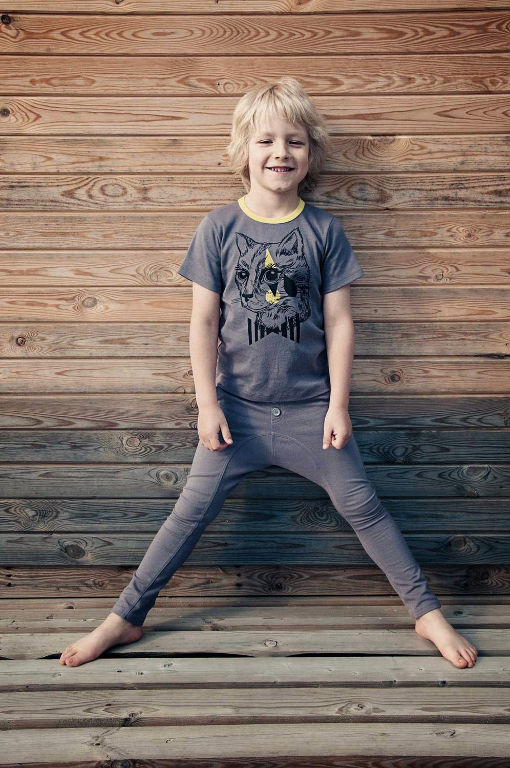 Boys tee with print by Hebe for spring 2014 children's clothes collection