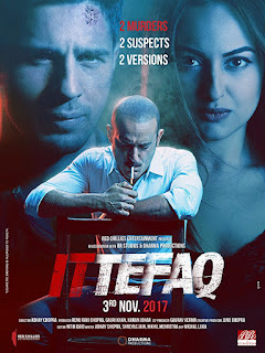 Ittefaq 2017 Hindi Movie 140Mb hevc BluRay