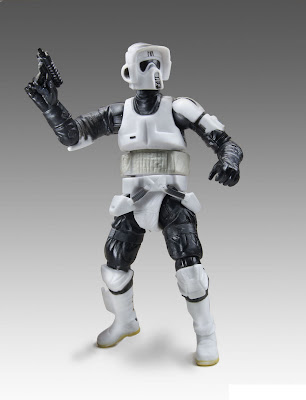 "Hasbro Star Wars The Black Series 3.75"" Scout Trooper figure"