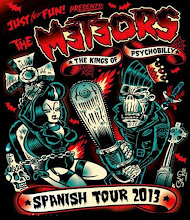 Just for Fun! presents: THE METEORS The Kings of Psychobilly Spanish Tour 2013