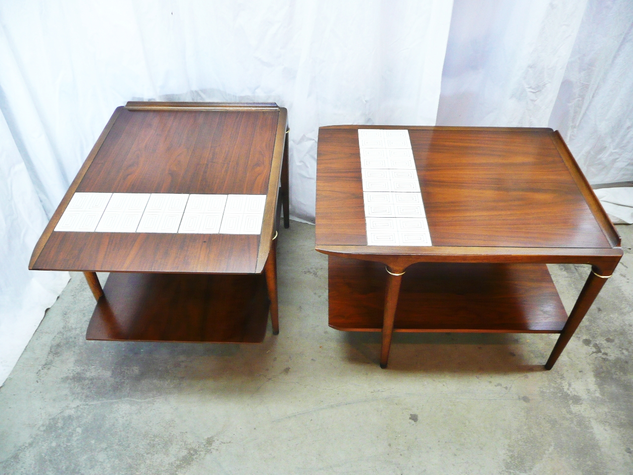 A Pair Of Side Tables ...
