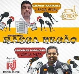 Fanpage do programa Rasga Negão