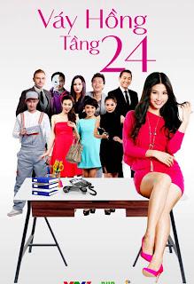 poster phim váy hồng tầng 24